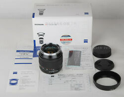 New Carl Zeiss Distagon T 28mm F/2 Ze Lens For Canon Eos 5d Iii 1dx 1ds W/hood