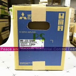 Spot Goods Free Shipping For New Mitsubishi Driver Mr-j2s-500b4 Warranty 1 Year