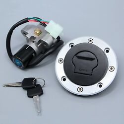 Ignition Switch Lock Fit For Suzuki Tl1000s/r Katana Gs500 Gas Cap Cover Key Set