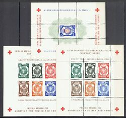 100 Genuine Dachau - Allach 1 Xi.1945.3 And039and039 Blocks Perforated And Imperf.