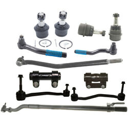 12pc Sway Bar Ball Joint End Link Tierod Drag Link For Ford F-250 Sd 4wd 00-2005
