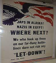 Wwi And Ww Ii War Poster Originals And Some Prints