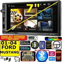 2001-2004 Ford Mustang Bluetooth Video Usb Aux Car Radio Stereo Package