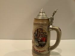 A. Busch Andldquolandrdquo Series - Tavern And Public House Tradition Of 17th Century Beer Stein