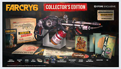 Brand New Preorder - Far Cry 6 Collectorand039s Edition Ps4 Ps5 Ultimate Edition Game