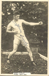 Sandy Mckenzie - Inscribed Picture Post Card Twice Signed