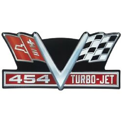Vintage Style Corvette 454 Turbo Gas Station Signs Man Cave Garage Decor Oil Can