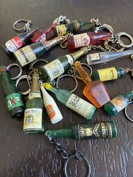 Vintage Keychain Charm Bottle Collection 15