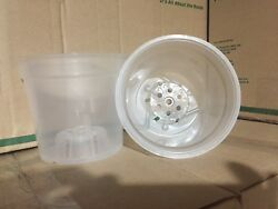 Clear Plastic Orchid Nursery Pots   Lot Of 50