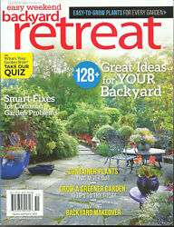EASYWEKEND BACKYARD MAGAZINE GREAT IDEAS FOR YOUR BACKYARD EARLY SPRING 2020