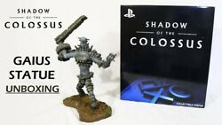Shadow Of The Colossus Gaius 15 Statue   Playstation Limited Edition 750   New