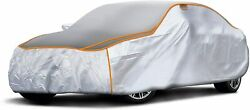 Sojoy Car Cover Of All-weather Hail/sown/heavy Rain Anti Damage For Sedan, Coupe