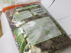 Sealed Bankers Bag Of 1000 In Modern Circulated Quarters. Real U.s. Money