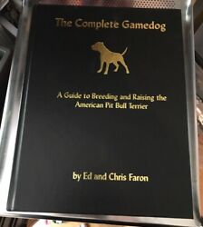 American Pitbull Terrier The Complete Gamedog Excellent condition Vintage signed