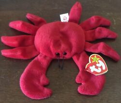 Ultra Rare 1 Of 1 Digger Ty Beanie Baby. Wrong Size Rear Leg.100 Gtd Authentic