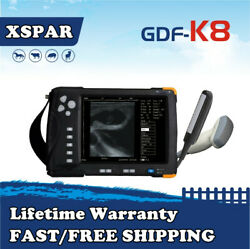Gdf-k8 Veterinary Ultrasound Scanner 7'' Lcd Screen For Large Animals Cow Horse