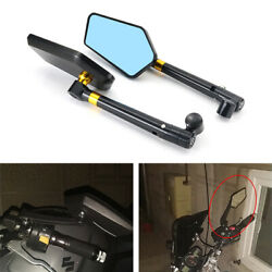 Cnc Alloy Handlebar Rear View Mirrors Fit For Wk Bikes 650i 2013-2016 2014 2015