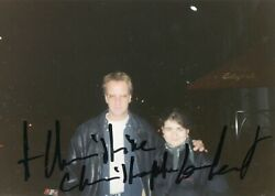 Christophe Lambert . Autograph . Hand Signed . 6-8 Inch . Very Good Condition .