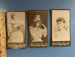 Antique G. W. Gail And Axand039s Navy Tobacco Cards