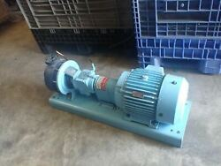 Wemco 1-1/2x1x6bch Pump And Reliance P21g391f Ze Duty Master Ac Motor 10hp 3500rpm