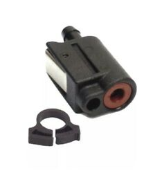 Genuine Mercury Outboard Fuel Line Clip On Connector - Tank End, 8mm, 22-13563q7
