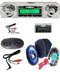 1959-1960 Impala / Bel Air Radio + Stereo Dash Replacement Speaker + 6x9and039s 230