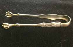 And Co. Sterling Silver Sugar Tong C 1870