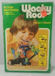 1976 Remco Toys Wacky Rods Freaky Fanner Motorcycle Hot Rod Action Motorized Toy