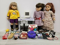 American Girl Pleasant Co. Lot - Shooting Star, Felicity, Samantha, Mac And More