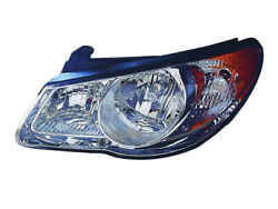 For Elantra 10 2010 Headlight Lamp With Bulb Left 92101-2h051 921012h051