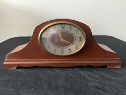 Revere Westminster Chime Electric Wood Mantle Clock Motor Self Start Numbered