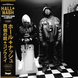 CONWAY THE MACHINE x WESTSIDE GUNN - HALL + & AND NASH LP - JAPAN OBI - 20 ONLY