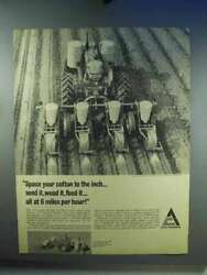 1967 Allis-chalmers Tractor, 4-row Pull Type Planter Ad