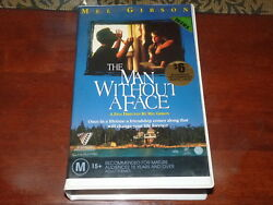 The Man Without A Face Vhs 1990and039s Drama Village Roadshow Home Video Pal