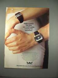 1973 Smiths Astral Digital Watch Ad - Make A Name