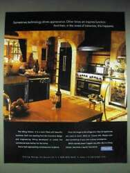 1998 Viking Appliances Ad - Technology Appearance