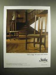 2005 Stickley Furniture Ad - Lifeand039s A Stage