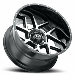 20x10 Vision Sliver Wheels And Fuel 33 At Tire Package 6x135 Ford F150 Expedition