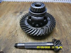 Kubota L295dt Differential With Ring And Pinion 35300-22100