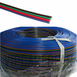 4ft-328ft Rgb 3528 5050 Rgb Led Strip 4 Pin Extension Cable Wire Connector Cord