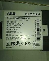 2tla020070r4700 Pluto S20 V2 Programmable Safety Controller . New In Box