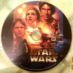 Star Wars A New Hope 1977 Episode Iv Dvd Rare Five Star Special Edition