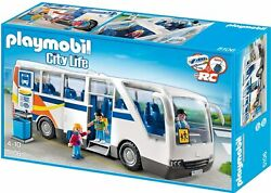 Playmobil 5106 City Life Coach Bus Rc Compatible Playset New Sealed