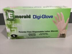Quality Small Latex Gloves Powder Free 100 Ct Fast Ship Order By 330pm Et