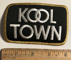Vintage Kool Town Cigarettes Tobacco Patch Iron On 4andrdquo X 2.5andrdquo