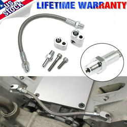 Ls Cylinder Head Coolant Steam Port Crossover Throttle Body Bypass Hose Kit Ls1