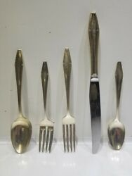 State House Formality 925 Sterling Silver 5-piece Place Setting No Mono C. 1942