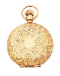 Illinois Co.14k Solid Gold Pocket Watch Circa 1890