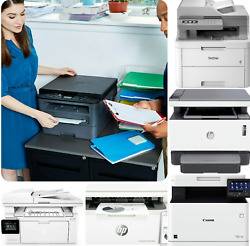 📻 Multifunction Wireless Laser Black-and-white All-in-one Printer Copy Scan Fax