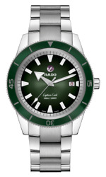New Rado Captain Cook Automatic Stainless Steel Green Dial Men's Watch R32105318